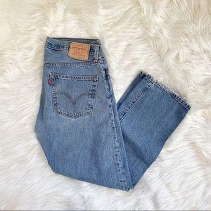Levi's 501 Button fly jeans W34 L29